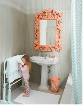 tk maxx bathroom mirrors pink wallpaper coral 20985