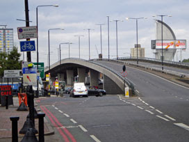Bow Flyover (from the Bow side)