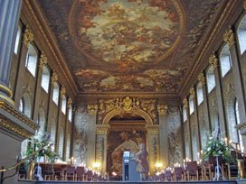 Old Royal Naval College Painted Hall