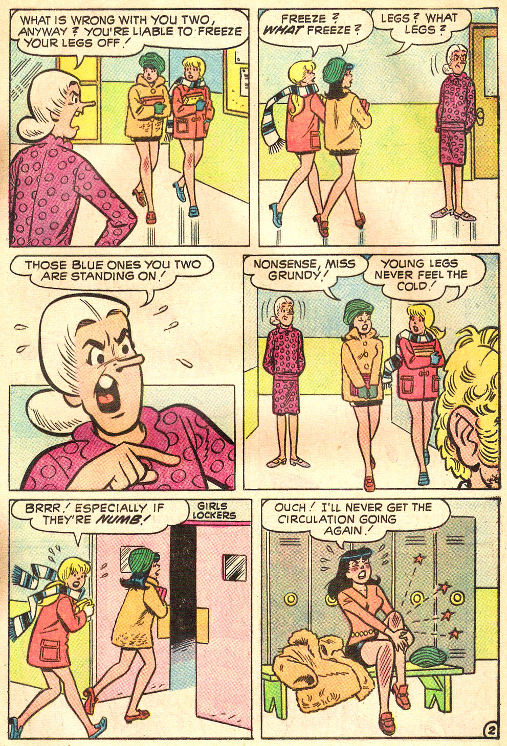 Read online Archie's Girls Betty and Veronica comic -  Issue #172 - 21