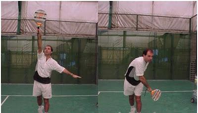 7c0b1fc4 En este golpe necesitan que la pelota salga con velocidad, por lo que no se  pongan duros, ni hagan fuerza, ya que solo obtendrán un movimiento lento  que no ...
