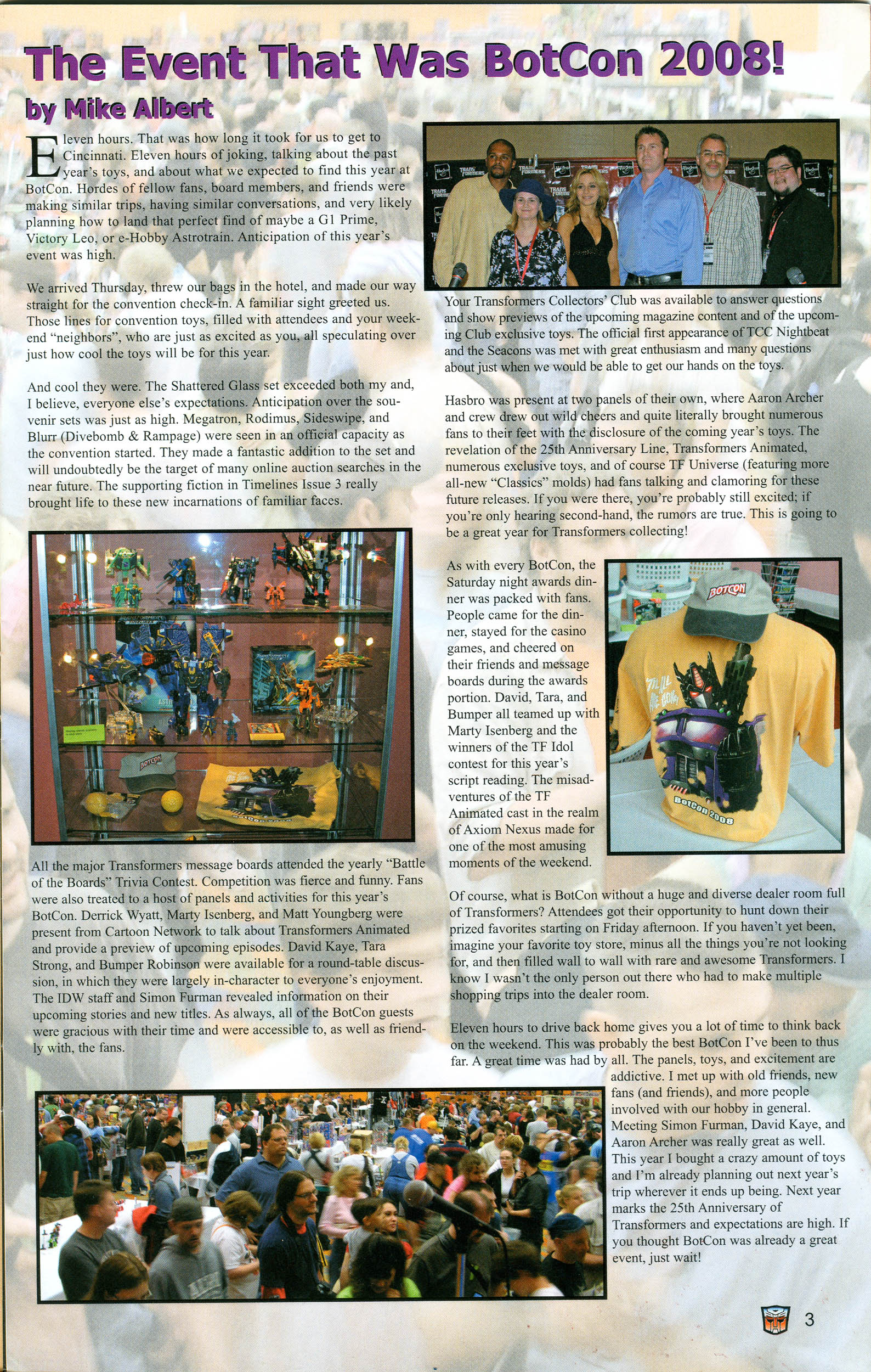 Read online Transformers: Collectors' Club comic -  Issue #21 - 3