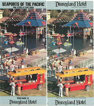 Original Disneyland Hotel Brochure Deviations 1980'