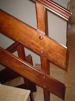 barandilla madera de pino