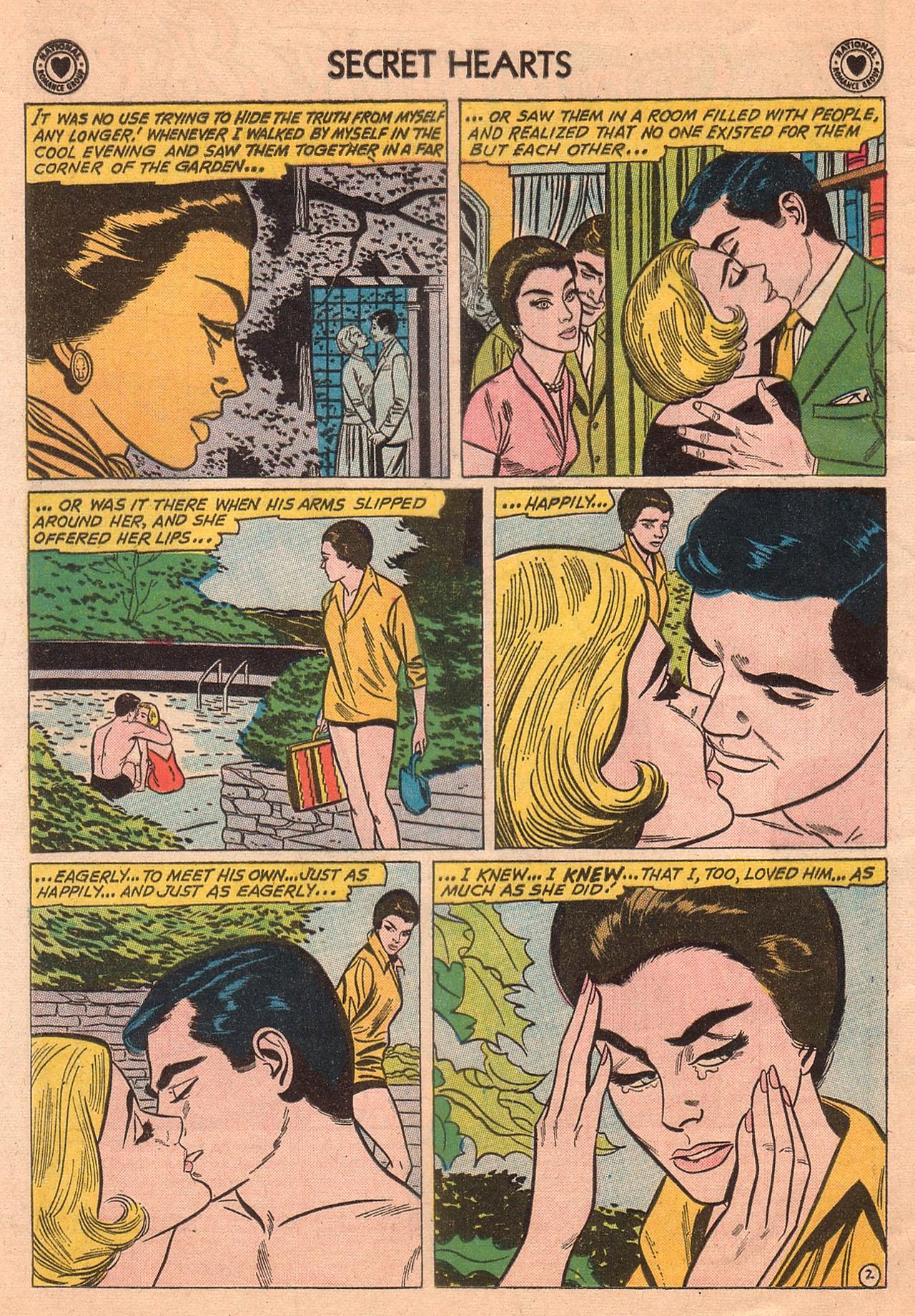 Read online Secret Hearts comic -  Issue #74 - 4