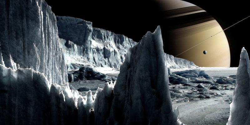 Spazio News Sonda Cassini Luna di Saturno: Encelado con Oceano di Acqua