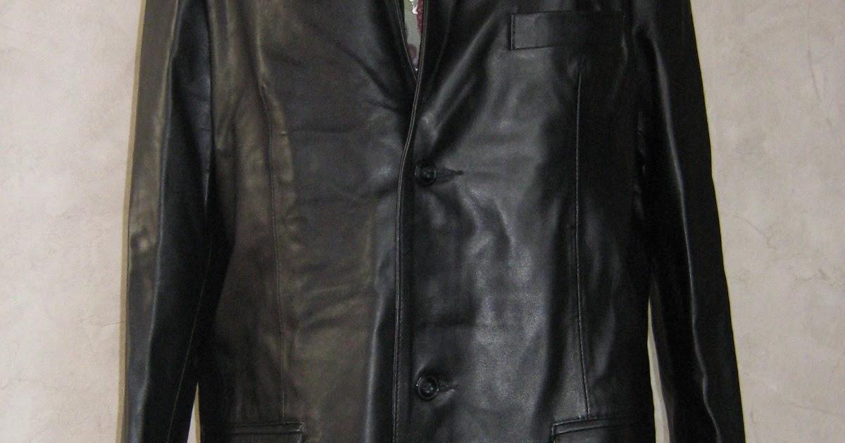 Fanny vide son dressing: Veste en cuir Imper Piel VENDUE
