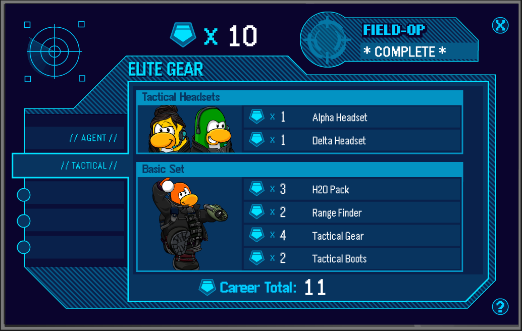 Club Penguin Cheats by Mimo777: New Club Penguin Tactical Gear!