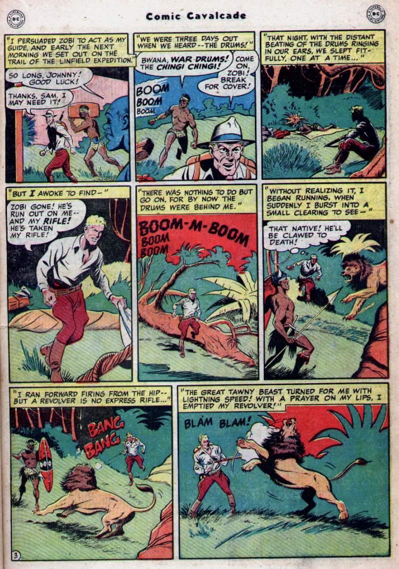Comic Cavalcade issue 28 - Page 21