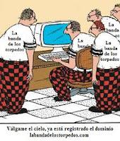 Chiste sobre registradores y registro de dominios en Internet