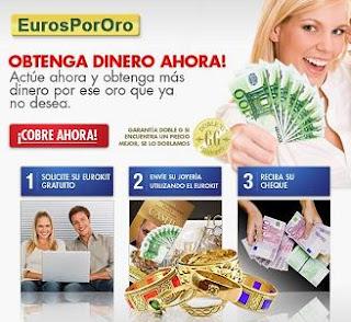 Vender joyas de plata y oro en EurosPorOro