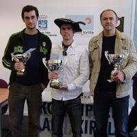Aramis Alvarez, Marko Tratar y Daniel Alsina, pódium del XXXIII Abierto Internacional de Ajedrez Ciudad de San Sebastián