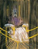 Óleo sobre lienzo: Estudio del Papa Inocencio X de Velázquez de Francis Bacon 1951