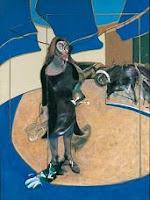 Óleo sobre lienzo: Retrato de Isabel Rawsthrone de pie en una calle de Soho de Francis Bacon 1967