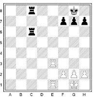 Tutorial de ajedrez: mate de pasillo elemental.