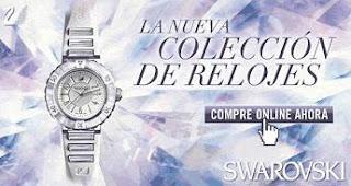 Nueva colección de relojes Swarovski