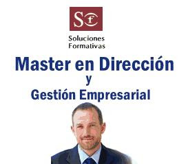 Master en dirección y gestión empresarial  de Soluciones Formativas