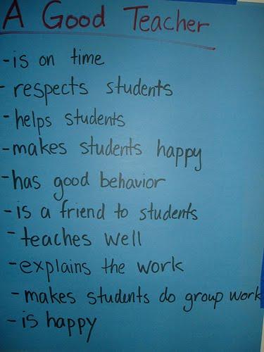 essay on qualities of a good teacher