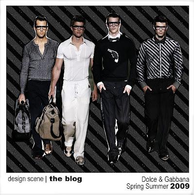 d7ab2e005d2 Milan Spring Summer 2009  Dolce   Gabbana