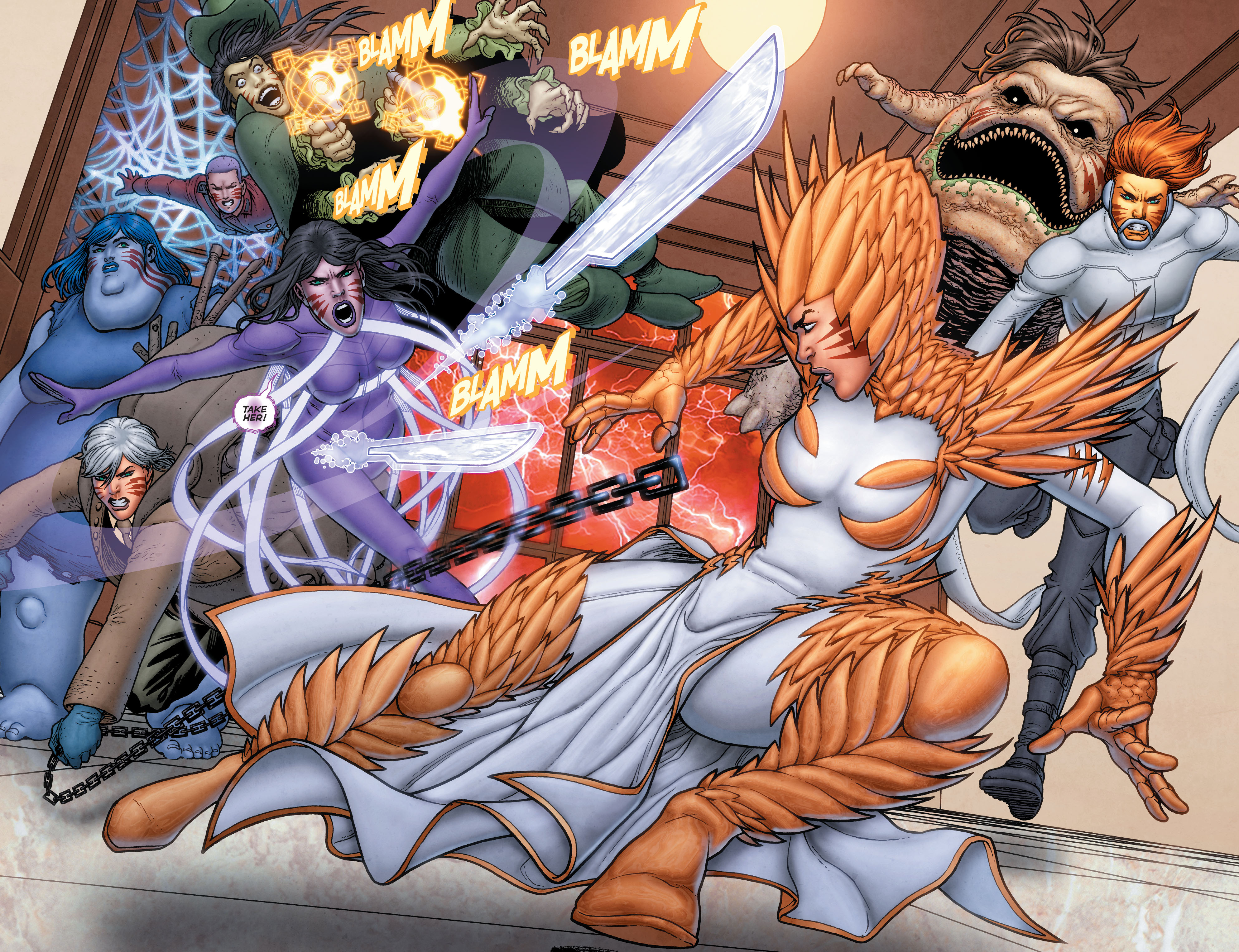 Read online Trinity of Sin: Pandora: Futures End comic -  Issue # Full - 11