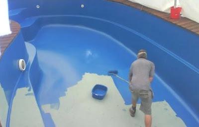 Pintar piscinas de poliester o plstico  PintoMiCasacom
