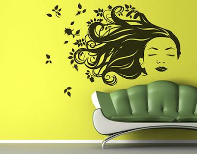 Entre colores de paredes y vinilos decorativos for Vinilos para paredes exteriores