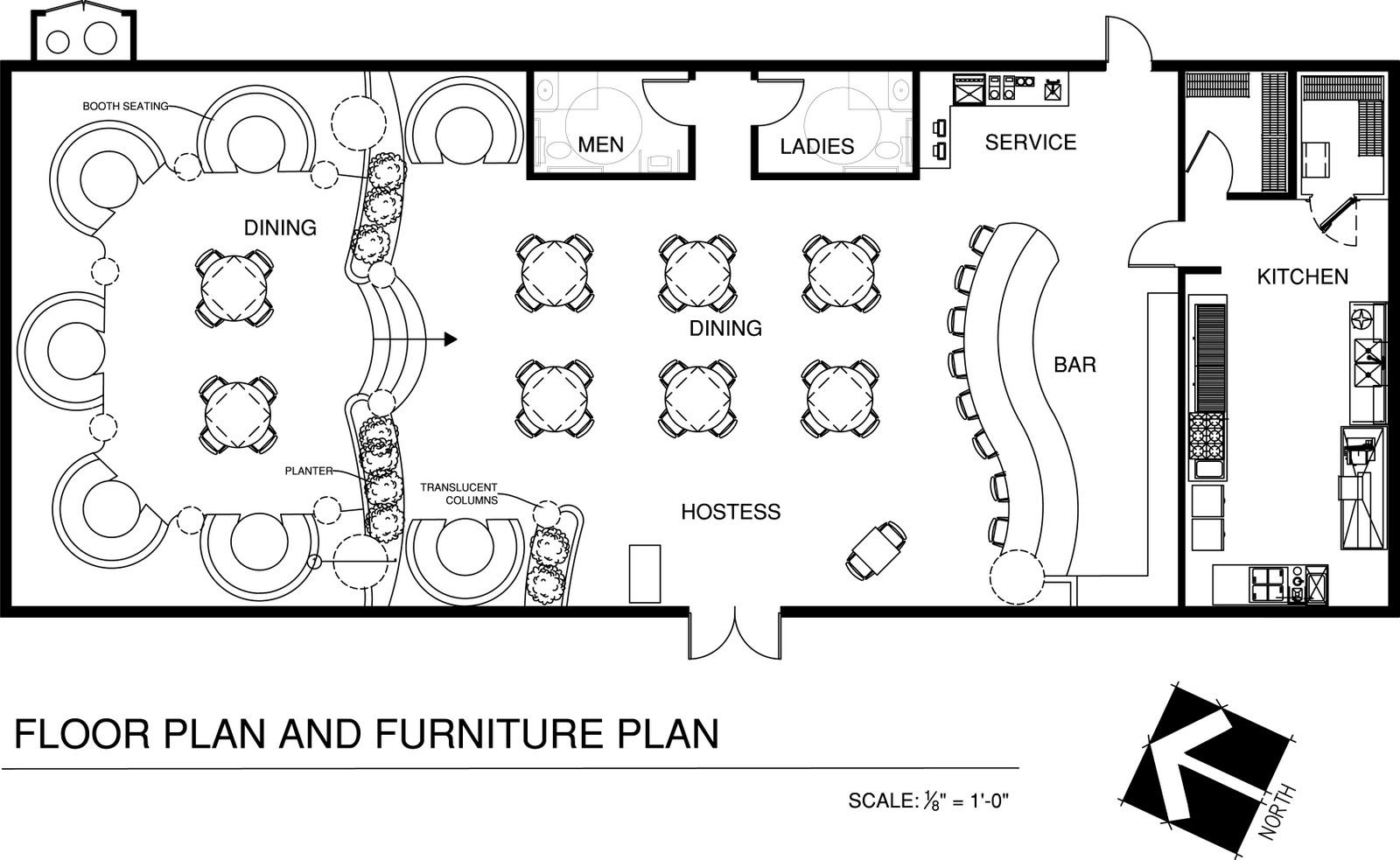 Designing A Restaurant Floor Plan  Home Design and Decor