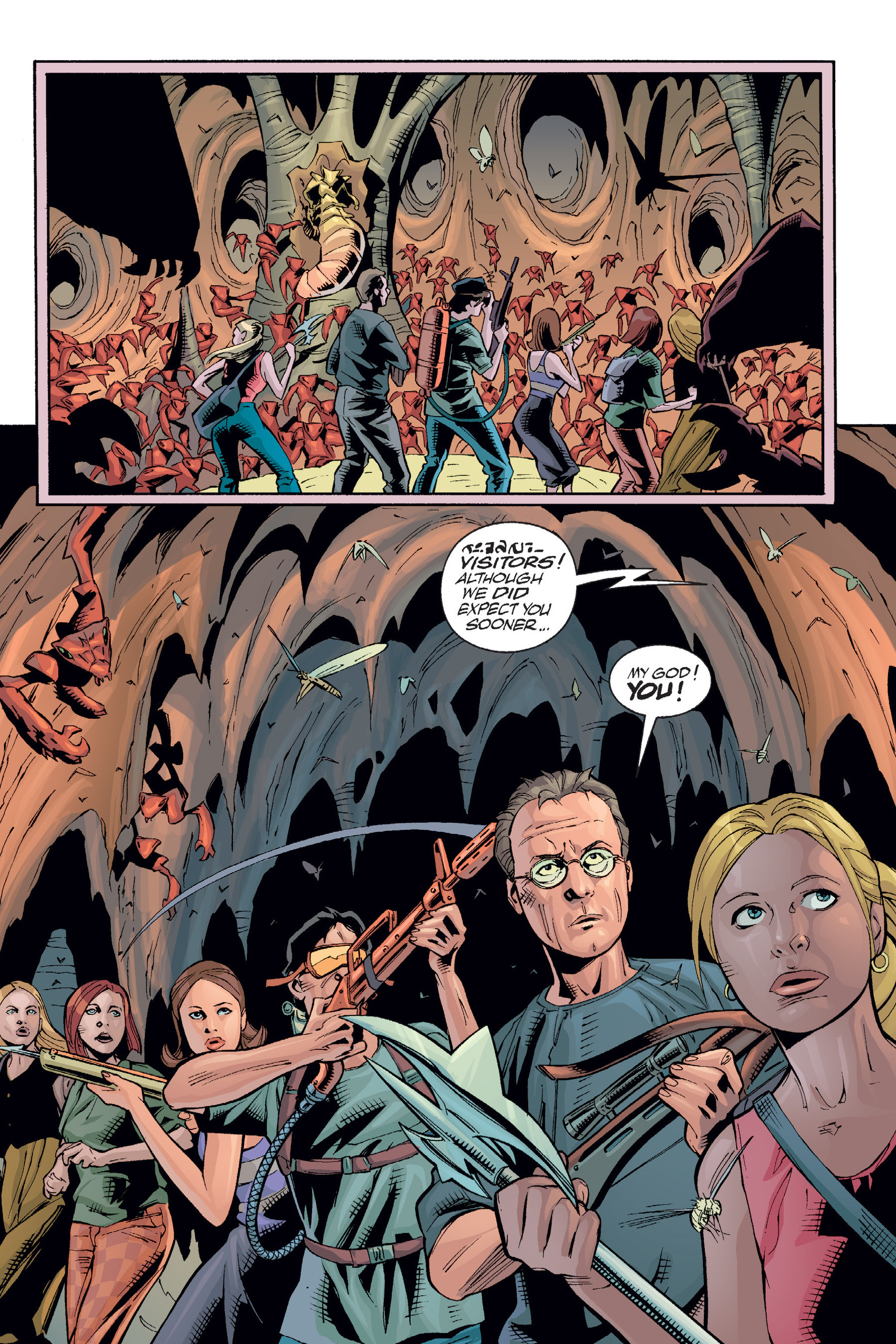 Read online Buffy the Vampire Slayer: Omnibus comic -  Issue # TPB 6 - 249