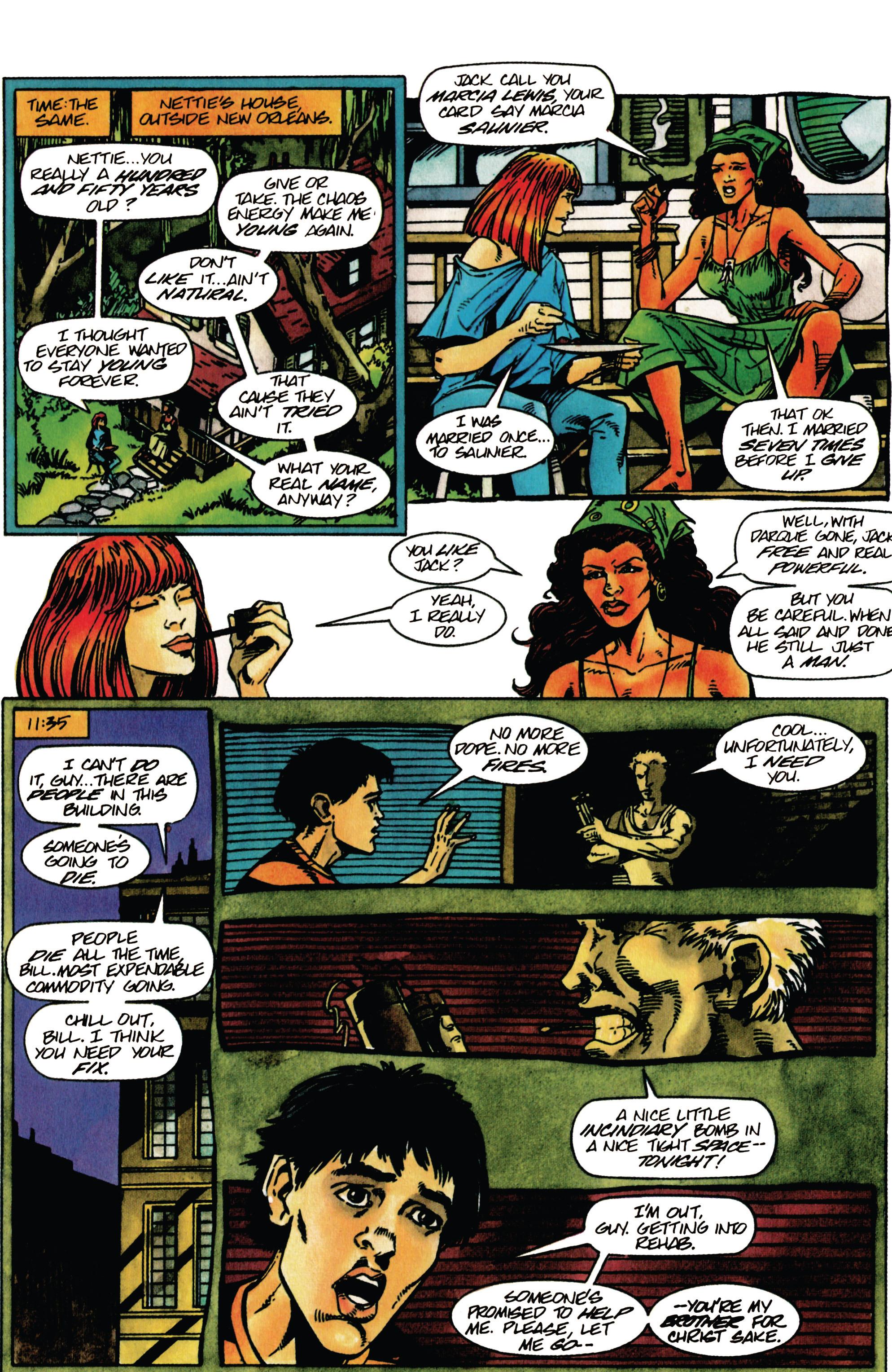 Read online Shadowman (1992) comic -  Issue #30 - 17