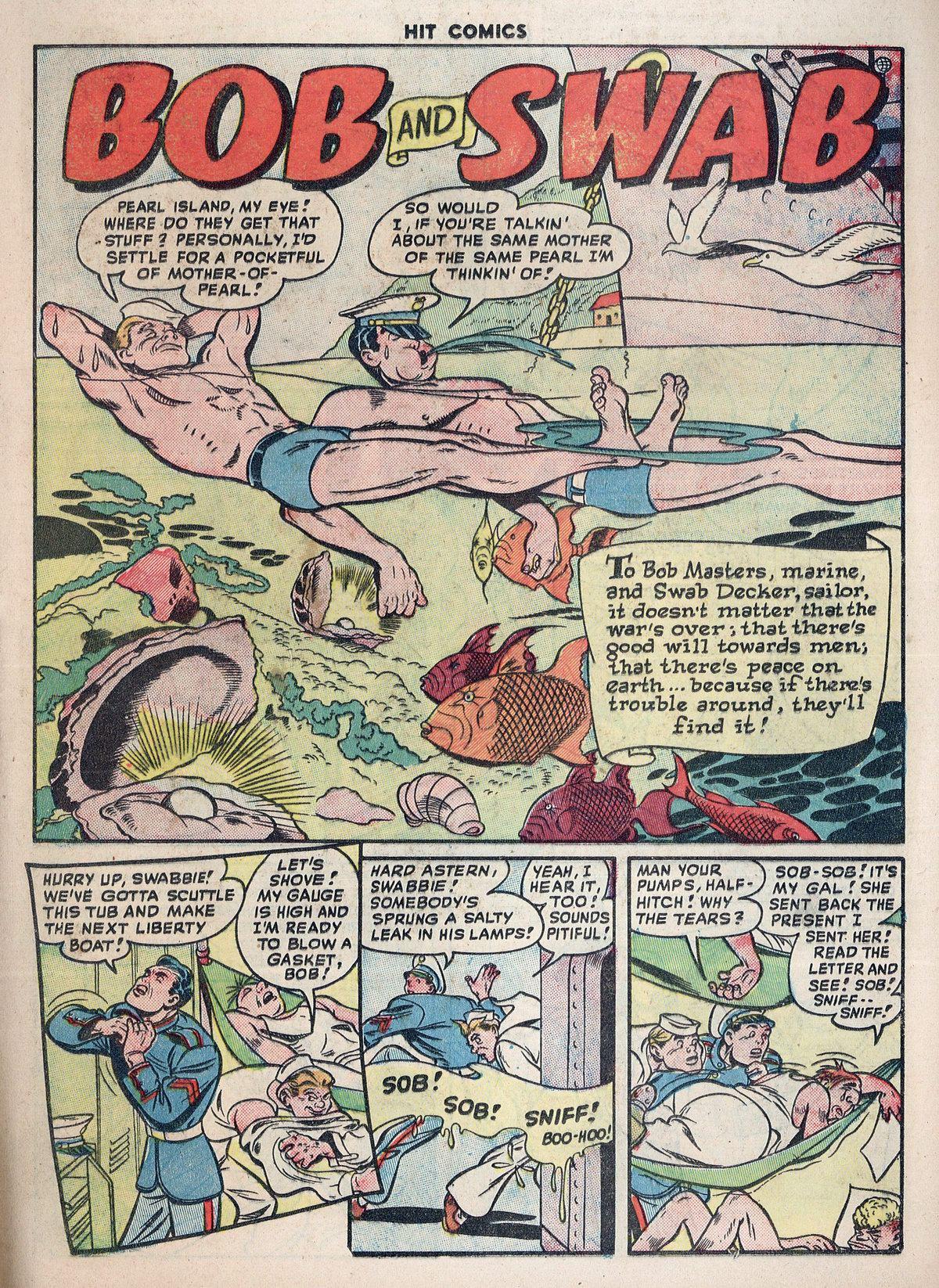 Read online Hit Comics comic -  Issue #55 - 21