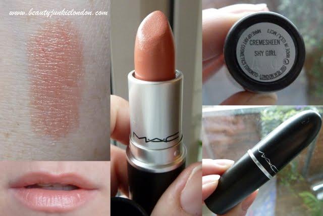 Voorkeur New lippie: MAC Shy Girl - A Beauty Junkie in London &ZG16