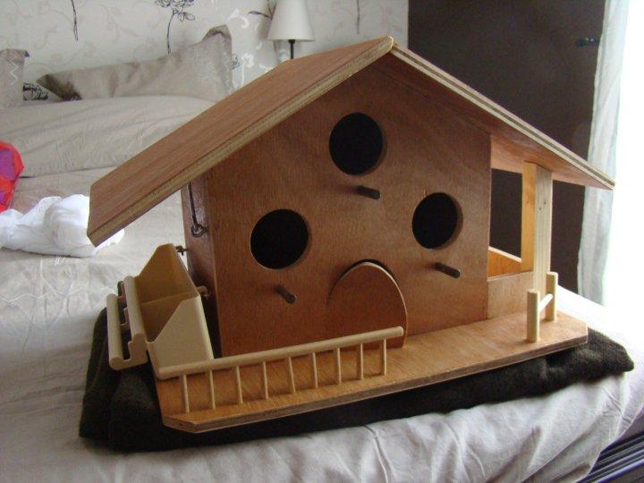 les cr ations en bois de j p maison pour les oiseaux. Black Bedroom Furniture Sets. Home Design Ideas