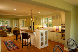 Simply elegant home designs blog defining space in an - Open floor plan kitchen ...