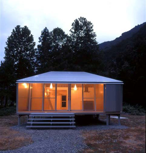 Simply Elegant Home Designs Blog: Small Metal Cottage