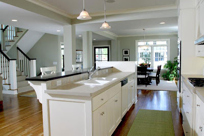 Simply elegant home designs blog home design ideas drop - Open floor plan kitchen ...