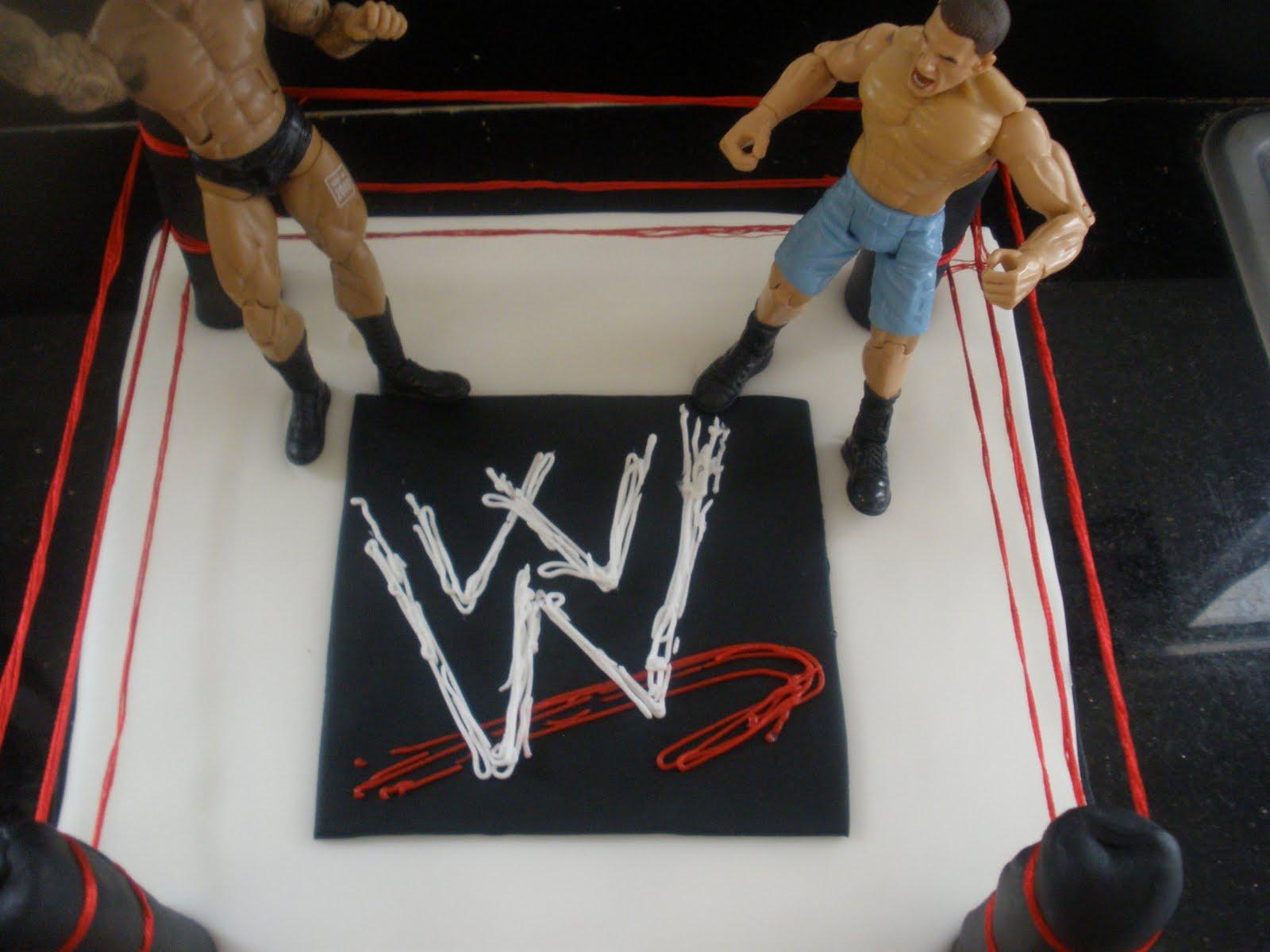 Cakes By Perla: WWE Cake