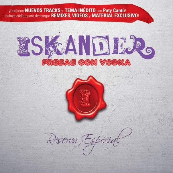 iskander fresas con vodka