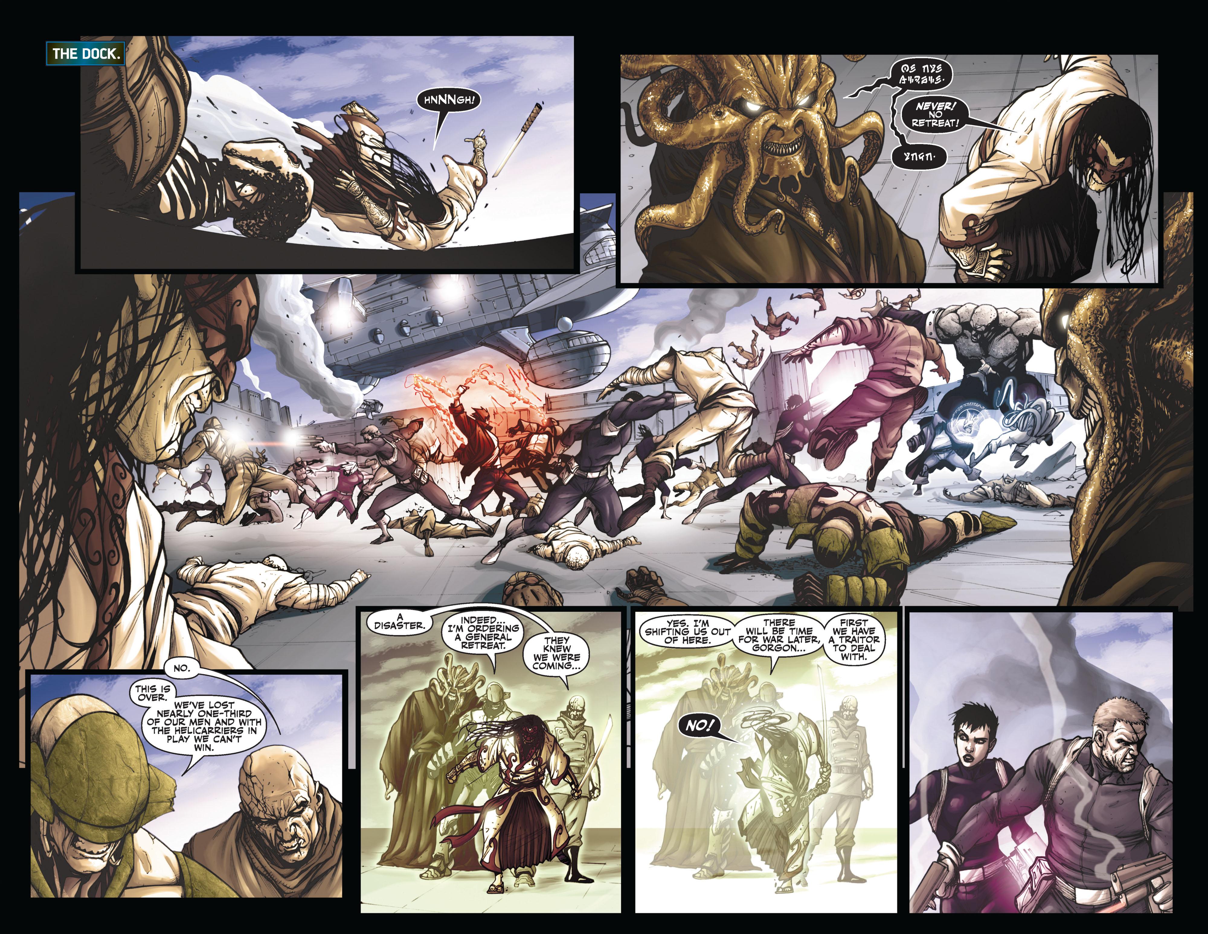 Read online Secret Warriors comic -  Issue #6 - 15