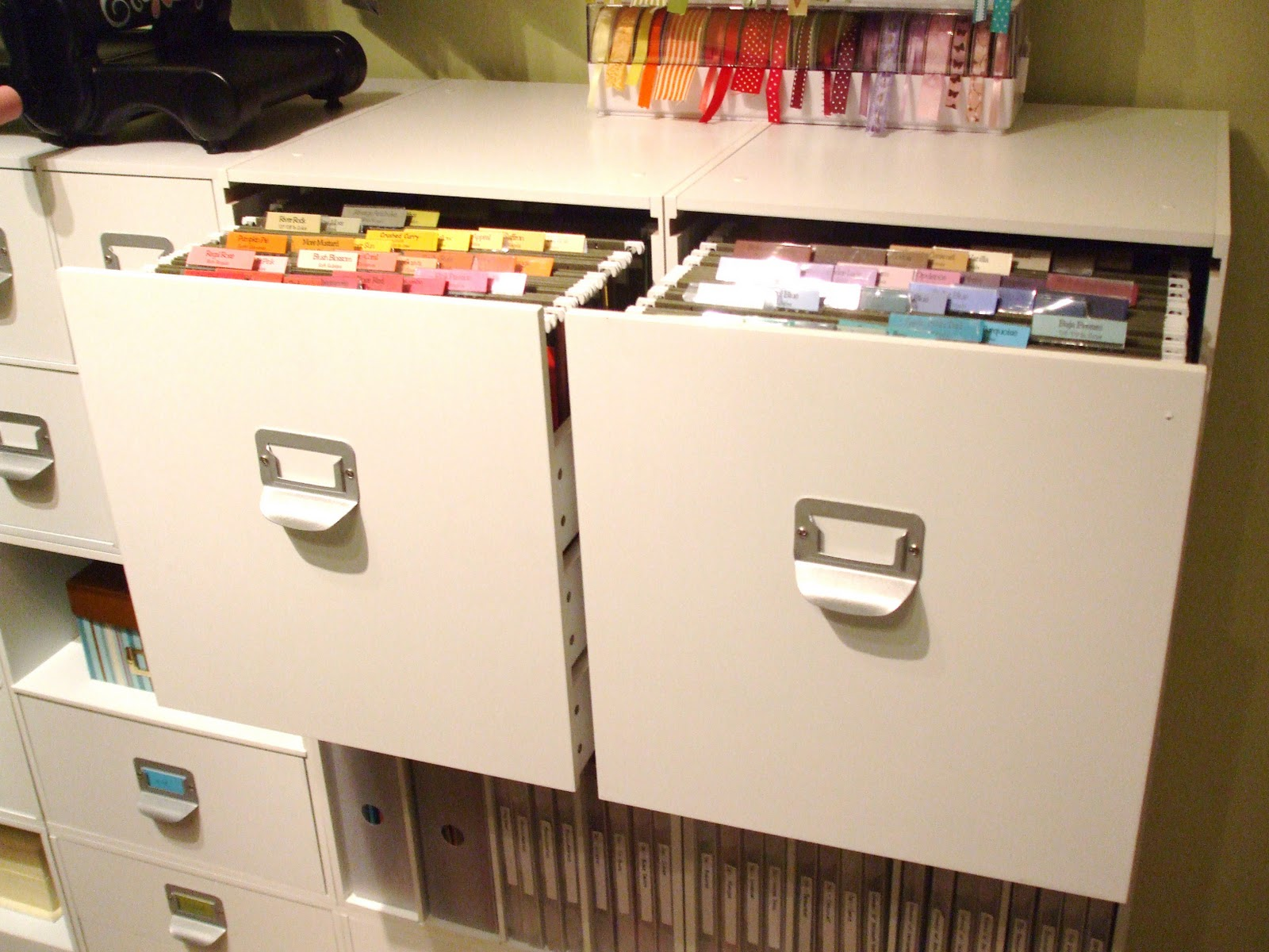 All About the Furniture: File Cabinets - Craft Storage Ideas