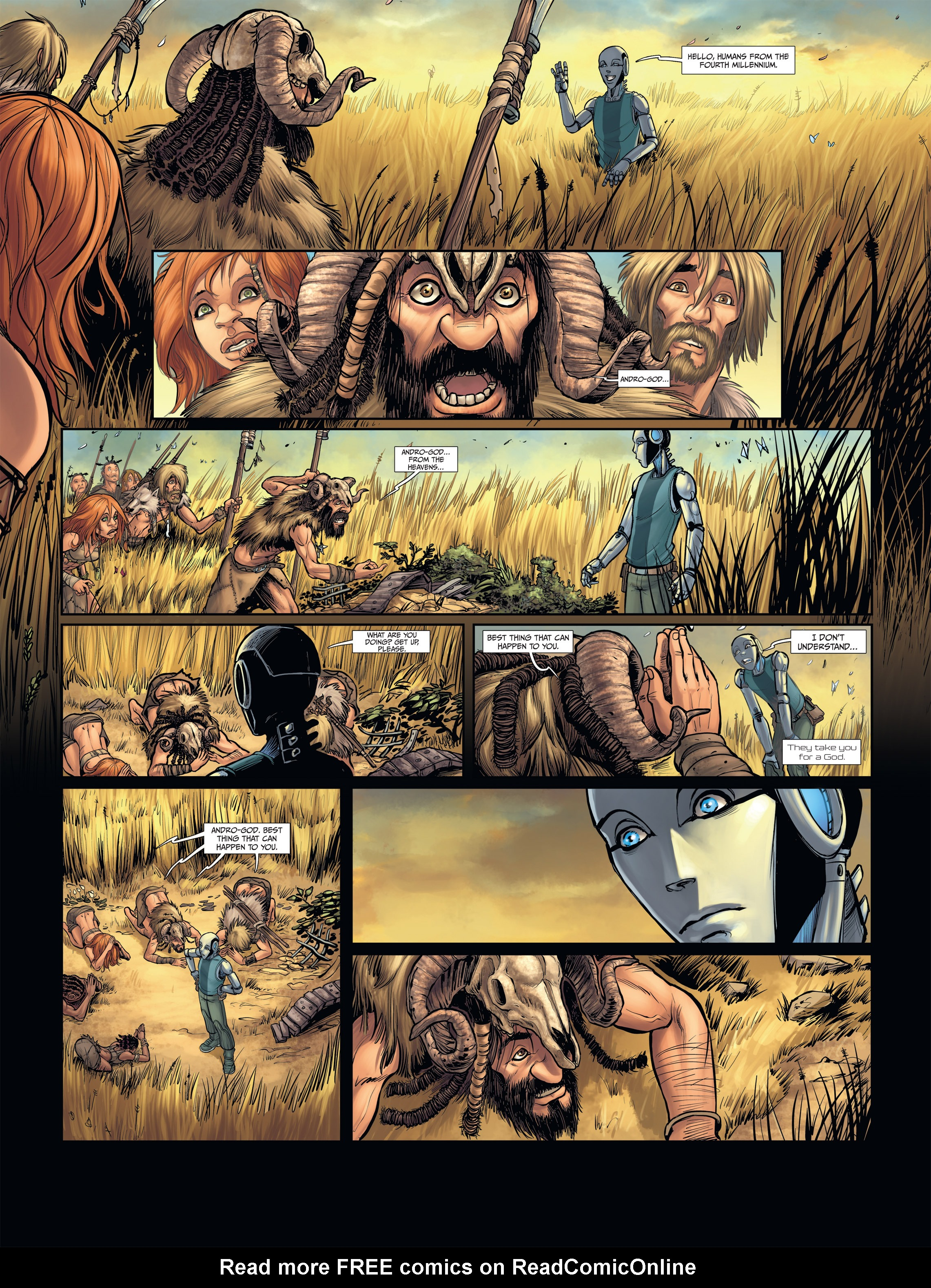 Read online Androïds comic -  Issue #2 - 18