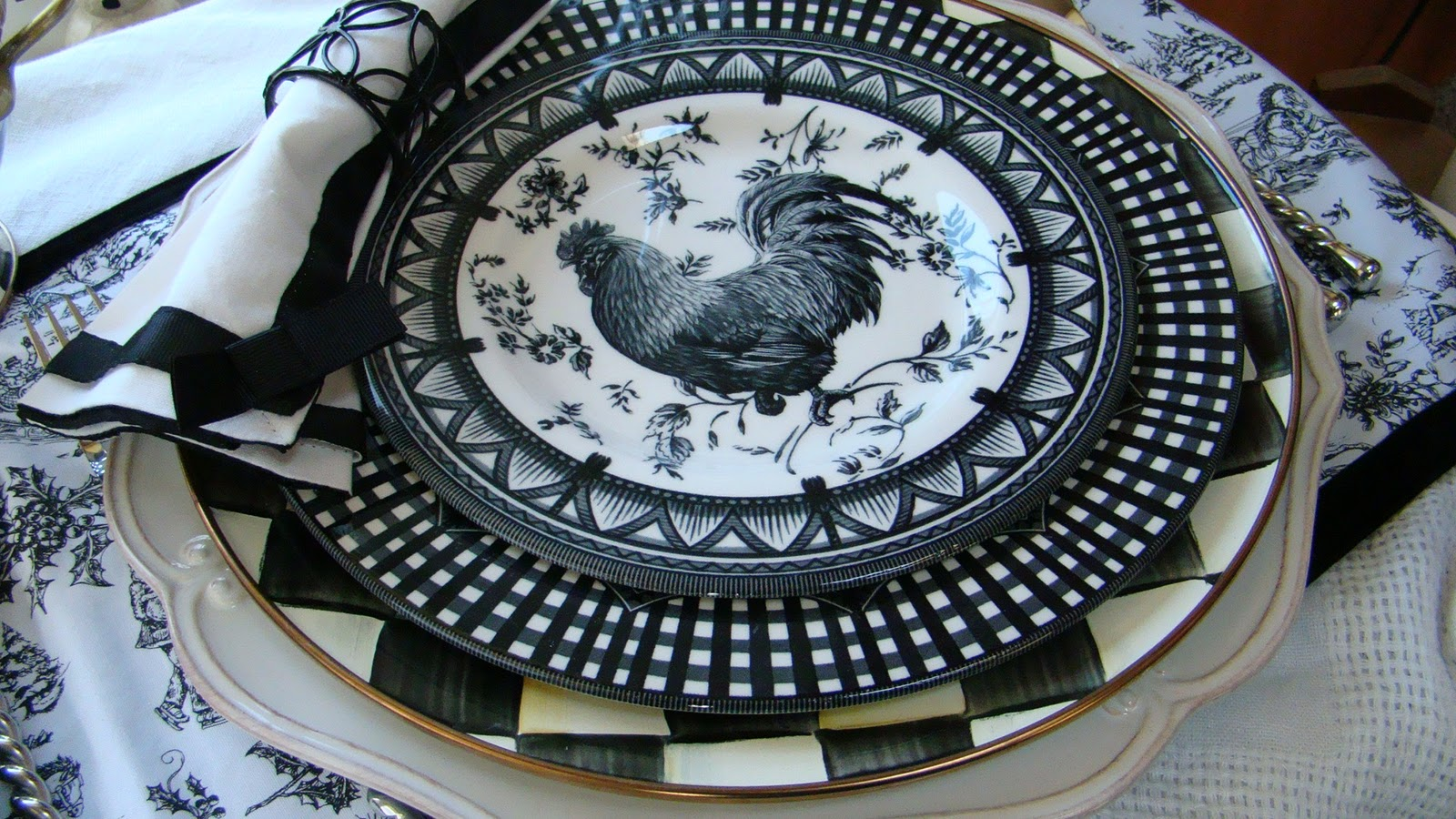 I Found More Rooster Plates & I Found More Rooster Plates - Mountain Breaths