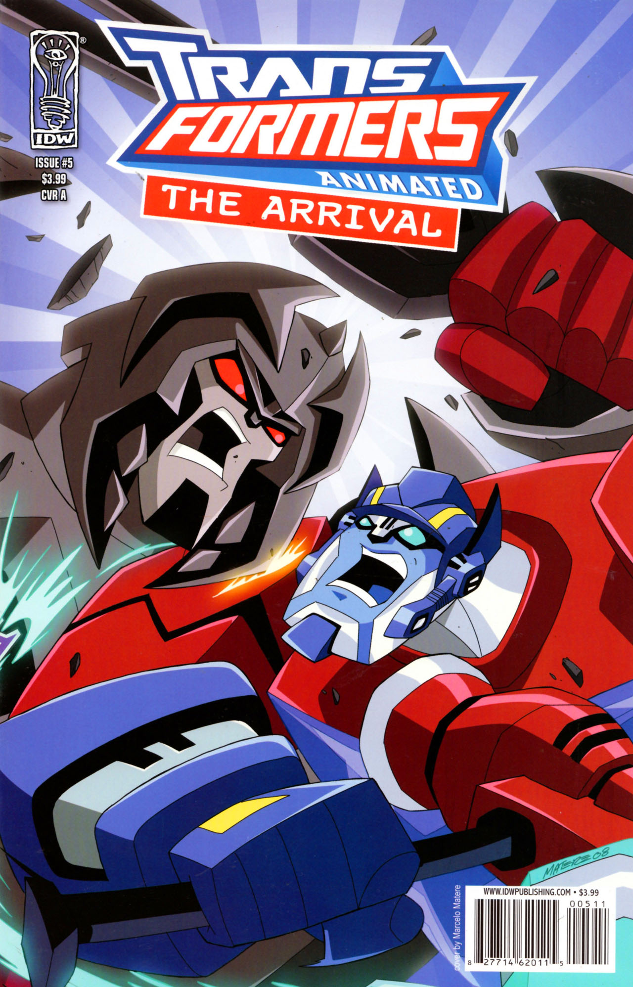 Read online Transformers Animated: The Arrival comic -  Issue #5 - 2