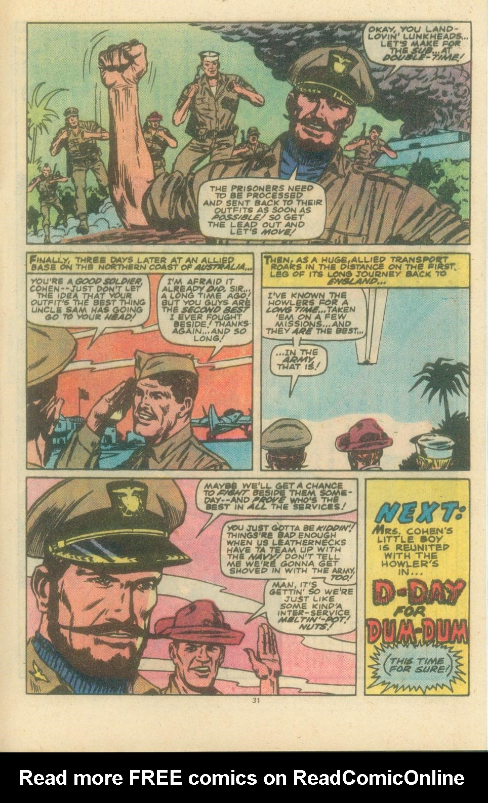 Read online Sgt. Fury comic -  Issue #154 - 33