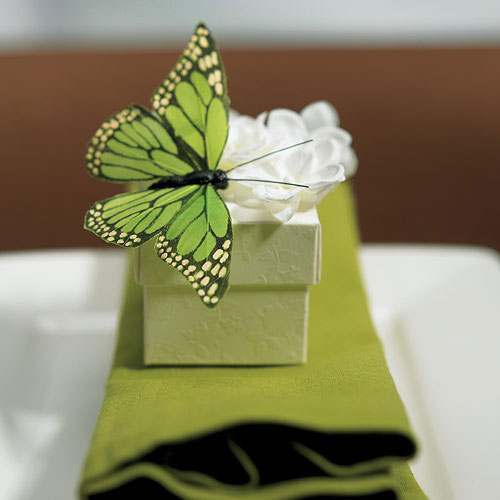 Decorative Work Hand Painted Butterfly Decorations