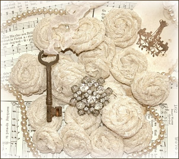 Vintage Lace Roses
