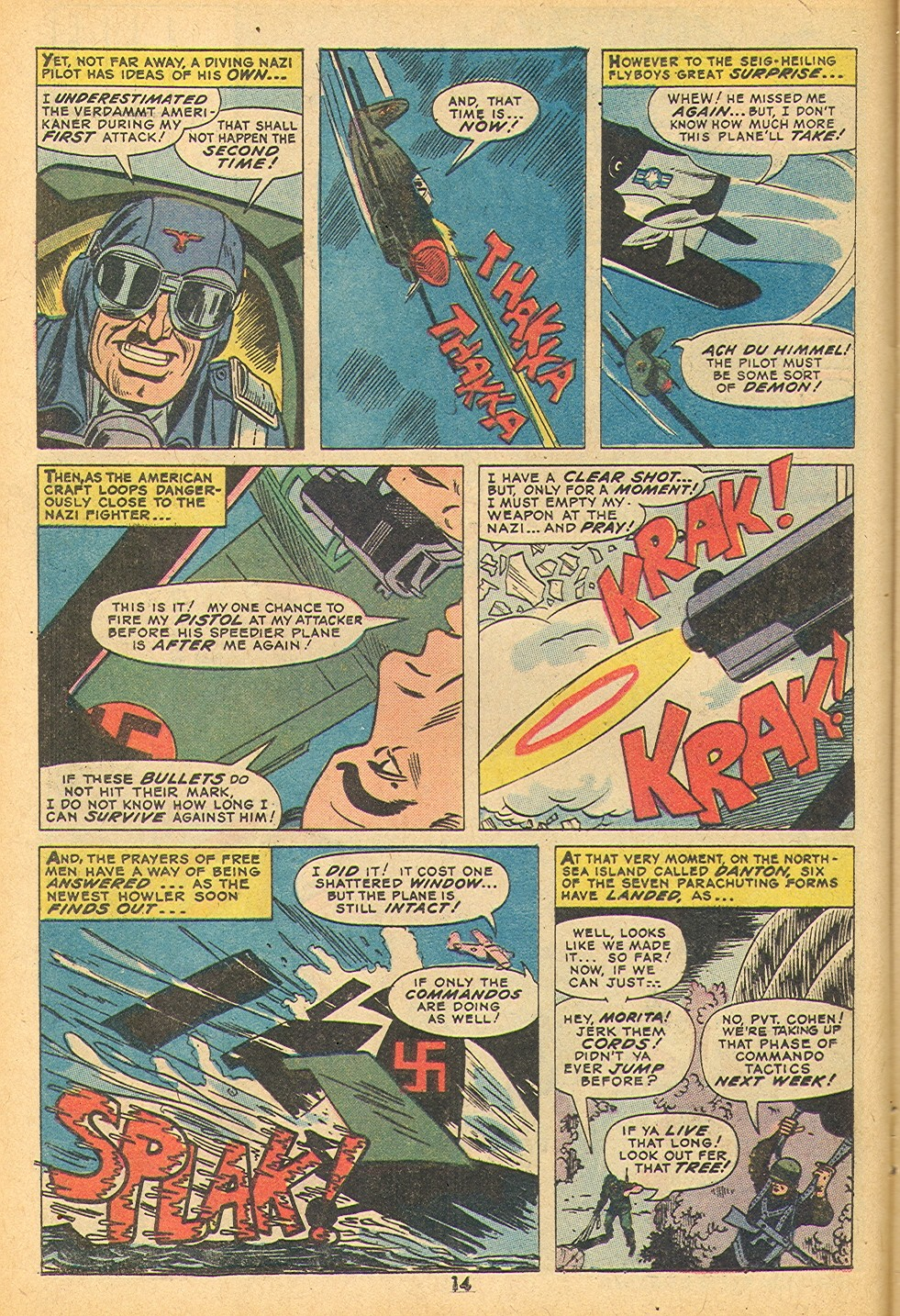 Read online Sgt. Fury comic -  Issue #109 - 16