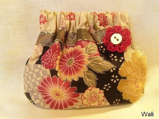 tutoriel pour petite bourse clic clac tutorial for little purse with hex open wali. Black Bedroom Furniture Sets. Home Design Ideas