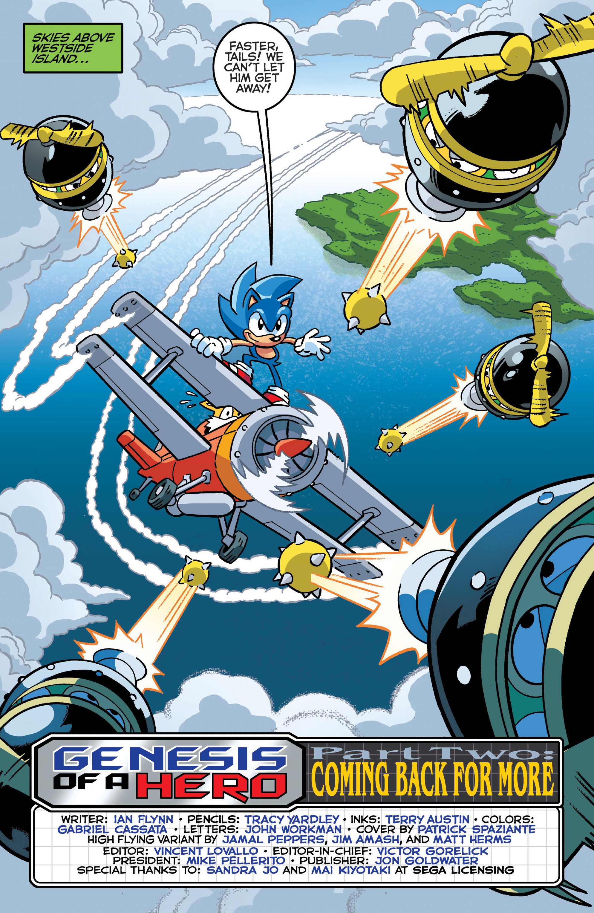 Read online Sonic The Hedgehog comic -  Issue #289 - 3