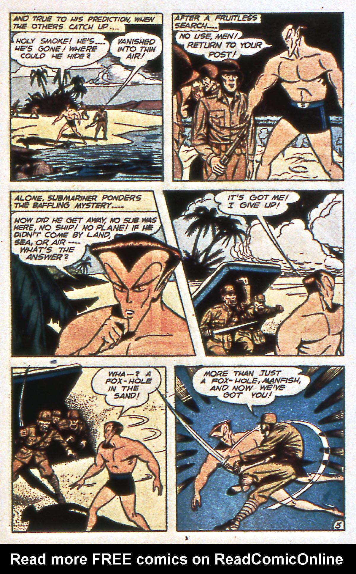 Read online All-Winners Comics comic -  Issue #12 - 33