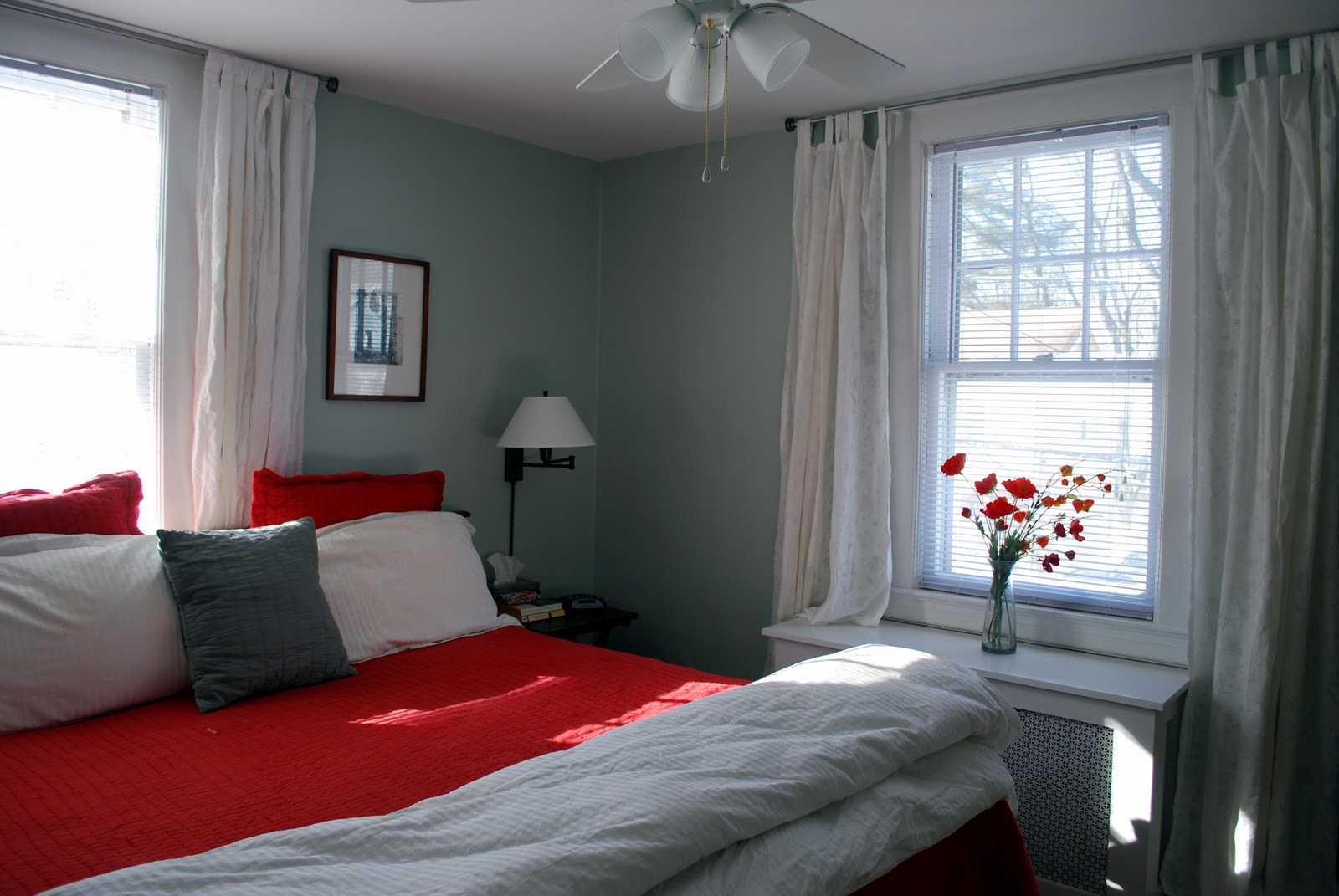 In the Little Yellow House: Master Bedroom: Curtains ... on Master Bedroom Curtains  id=65959